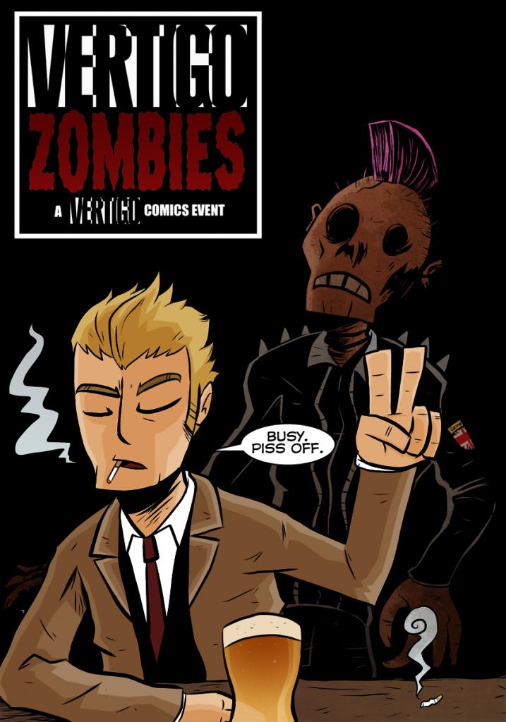 Vertigo Zombies: Hellblazer