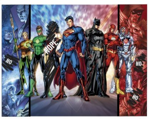 A Leak Of The New Justice League Cover