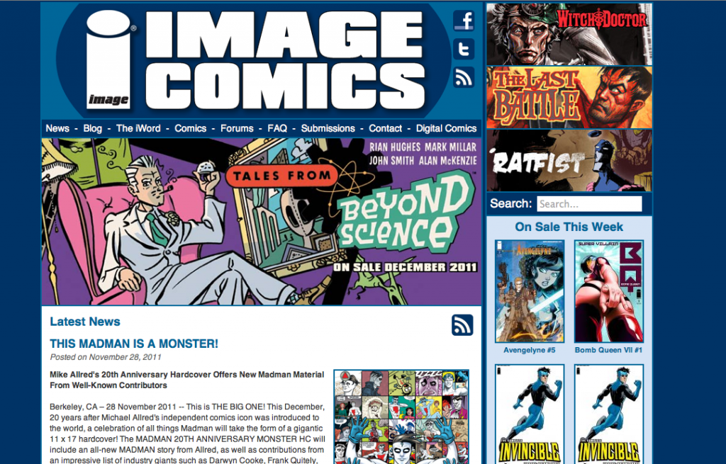 Image Comics Screenshot
