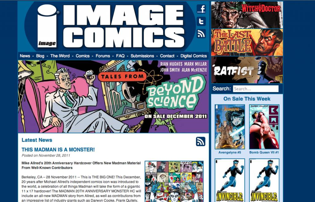 Image Comics Screenshot