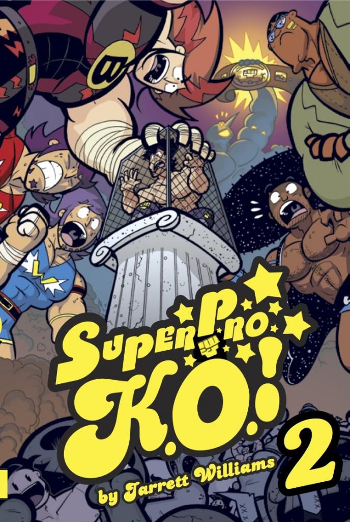 Super Pro KO Vol 2 Cover