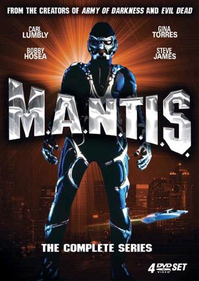 M.A.N.T.I.S. Film Cover