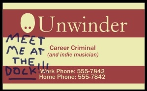 Unwinder's Business Card