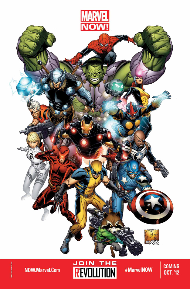 Marvel Now Preview Image