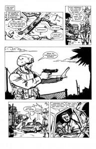 Original No Enemy But Peace illustration by Richard Meyer