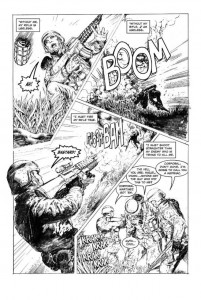 Original No Enemy But Peace illustration by Martin Montiel Luna