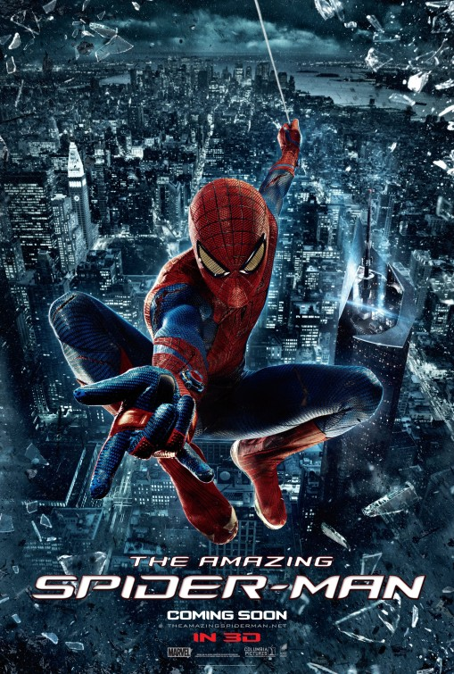 Amazing Spider-Man poster.