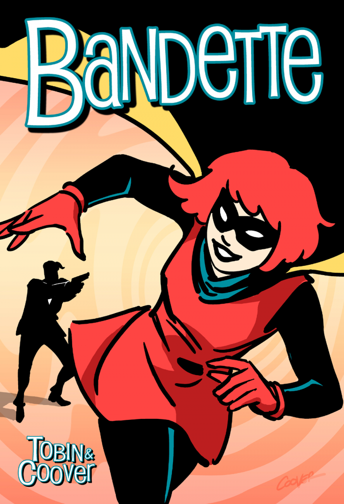 Bandette #1 Cover Art By Colleen Coover