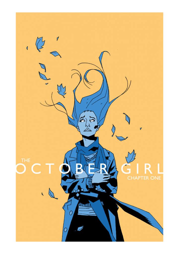 The October Girl cover #1 by Matthew Dow Smith
