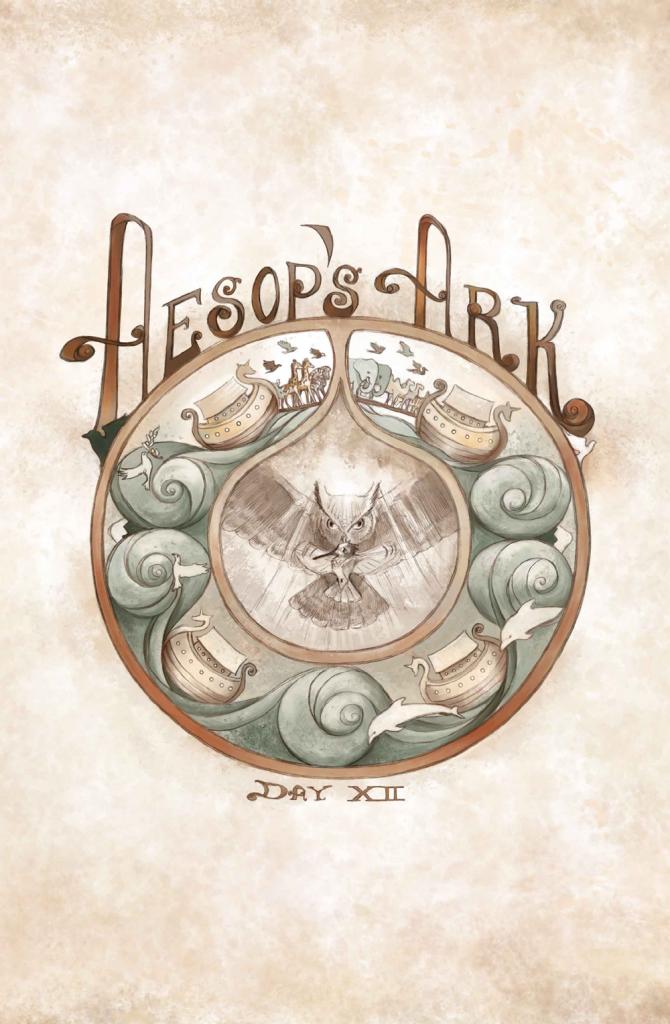 Aesop's Ark #2 Cover