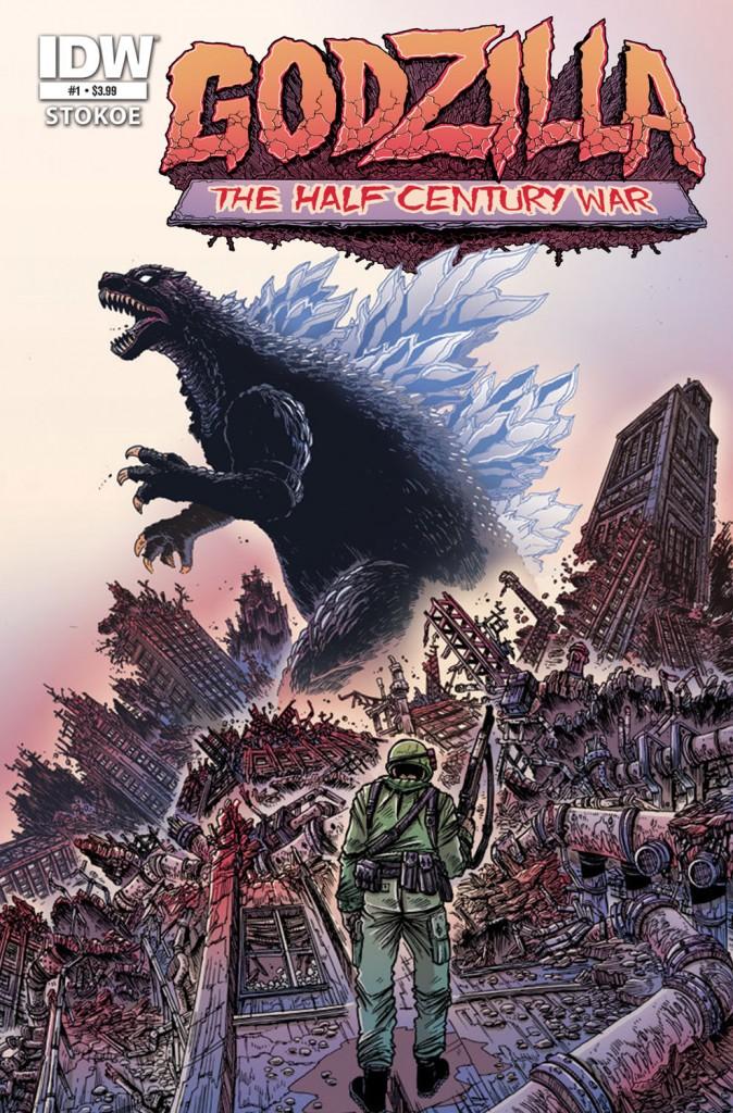 Godzilla: The Half Century War Cover #1 Art By James Stokoe