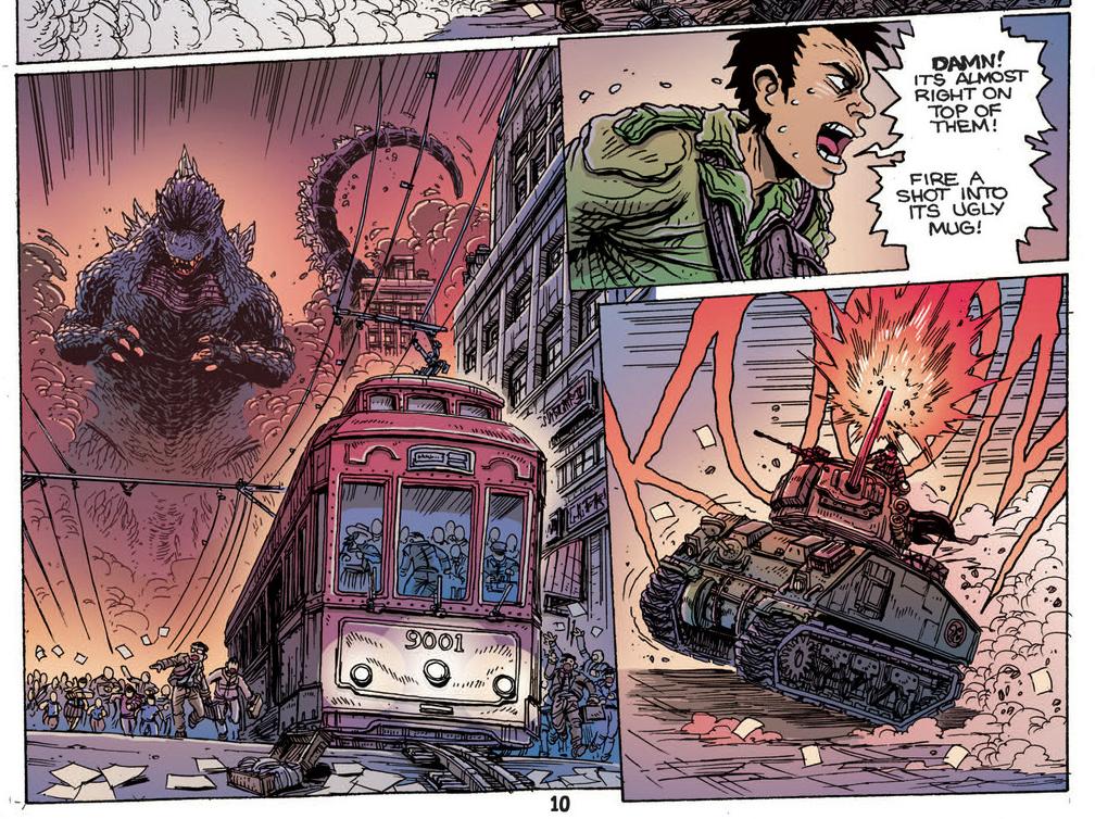 Godzilla: The Half Century War #1 Art By James Stokoe