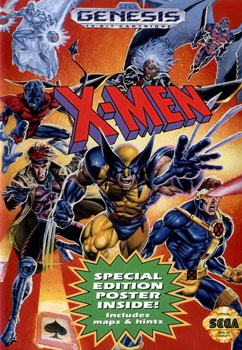 X-men Game Cover
