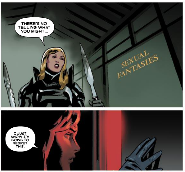 I agree Emma. From Wolverine #8