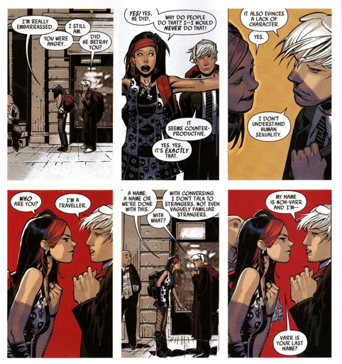 From Dark Avengers Annual #1 by Brian Michael Bendis and Chris Bachalo